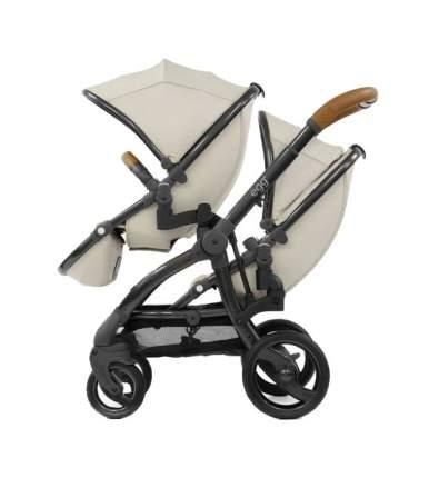 Прогулочный блок для второго ребенка Egg Tandem Seat Jurassic Cream & Gun Metal Chassis