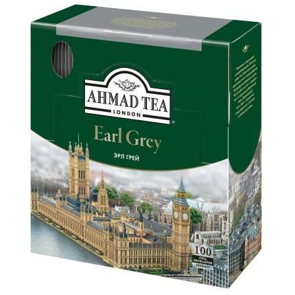 Чай черный Ahmad Tea earl grey 100 пакетиков