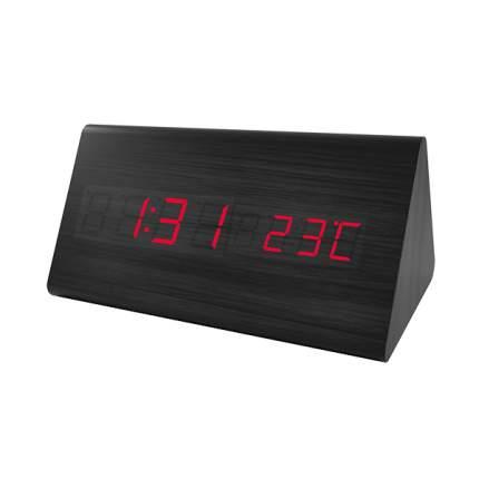Электронные часы Perfeo Trigonal Black