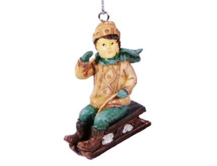 Елочная игрушка Hogewoning 6х5х7 см 1 шт 400247-040