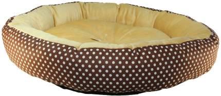 Лежак для собак и кошек Xody Ватрушка №2, мех, 70х70х15 см