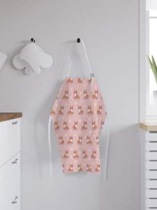 JoyArty Фартук кухонный регулируемый «Корги королевы», универсальный размер