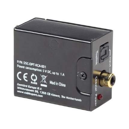 Аудио декодер Cablexpert DSC-OPT-RCA-001