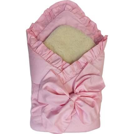 Конверт-одеяло Папитто с завязкой Розовый 2153