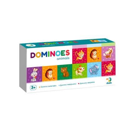 Домино DODO 300248 Зверята
