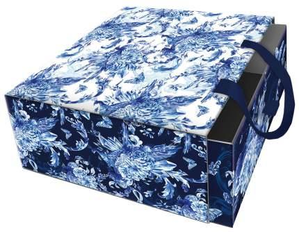 """Коробка подарочная """"Голубые цветы"""""""