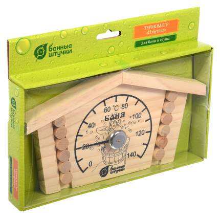Термометр Банные штучки Избушка 23x12,5x2,5 см