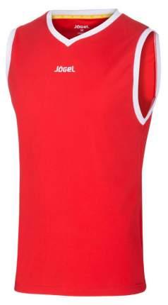 Майка баскетбольная JBT-1020-021, красный/белый, детская (YM)