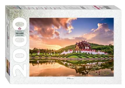 Пазл Step Puzzle 2000 деталей Тайланд. Чиангмай. Королевский парк