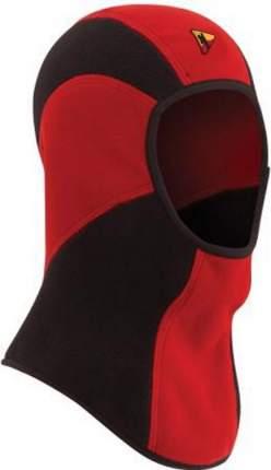 Балаклава Bask Cascade, красная/черная, XL