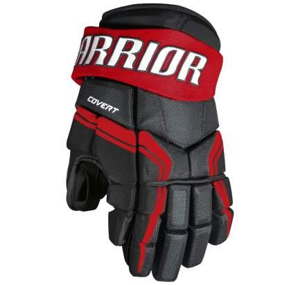 Перчатки хоккейные Warrior QRE3, 10 красные/черные