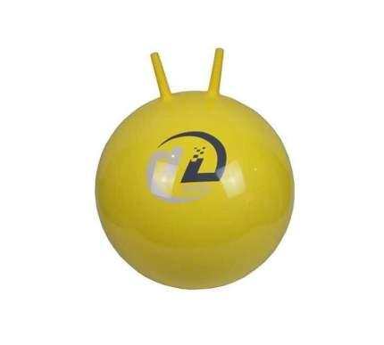 Мяч гимнастический с рожками желтый 45 см