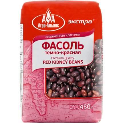 Фасоль Агро-Альянс темно-красная 450 г