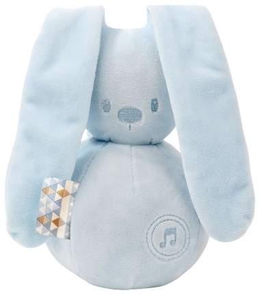 Игрушка мягкая Nattou Musical Soft toy Lapidou Кролик light blue