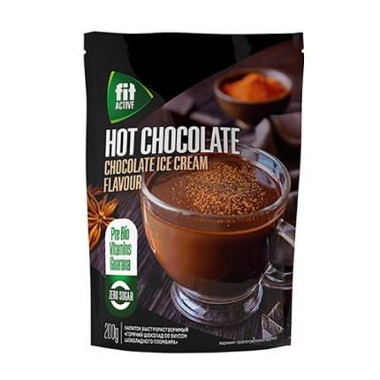 Горячий шоколад Fit Parad шоколадный пломбир низкокалорийный