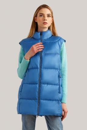 Утепленный жилет женский Finn Flare B19-11096 синий S