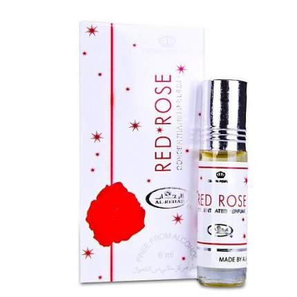 Масло парфюмерное Al Rehab Red Rose, 6 мл