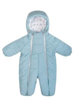 Комбинезон Сонный гномик Галактика голубой, размер 80
