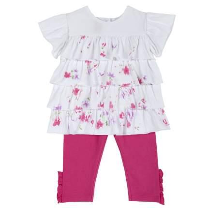 Комплект футболка и леггинсы Chicco розовый, размер 92