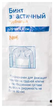Бинт эластичный PL трубчатый 20 х 4 см №6