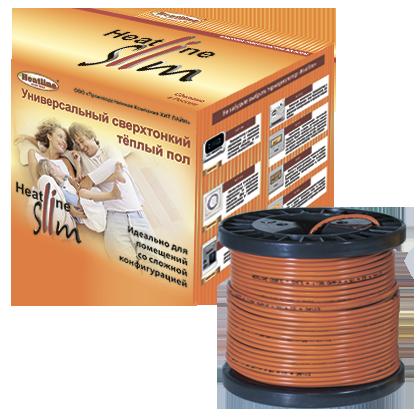 Двухжильный теплый пол на катушках Heatline HL-SL2-900