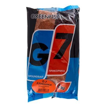 Прикормка Gf G-7, 1 кг, клубника