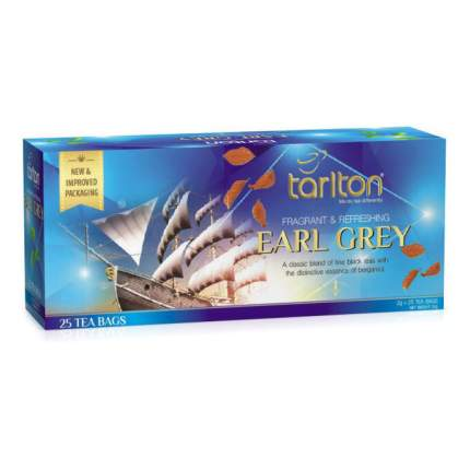 Чай черный  Тарлтон  эрл грей