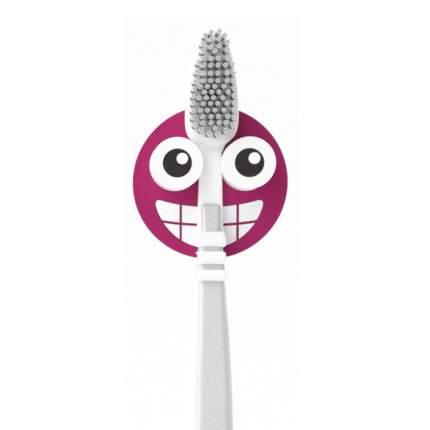Держатель для зубной щётки Emoji фиолетовый