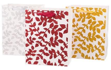 Пакет подарочный Lefard 512-506 Белый, красный, желтый