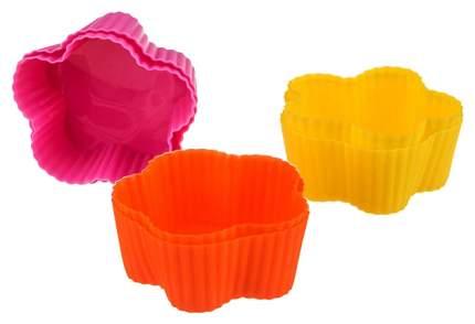Набор форм Agness 710-116 Розовый, желтый, оранжевый