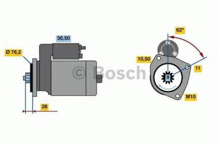 Стартер Bosch 0986024050