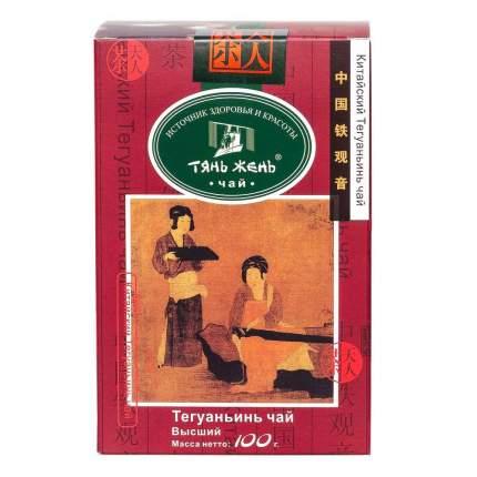 Чай  Тянь-Жень тегуаньинь улун китайский крупнолистовой 100 г
