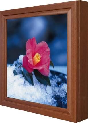 "Ключница ""Цветок в снегу"" Орех"