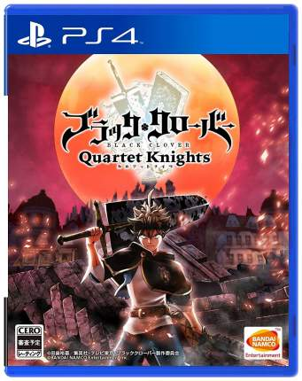 Игра Black Clover: Quartet Knights для PlayStation 4