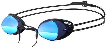 Очки для плавания Arena Swedix Mirror 57 black/blue