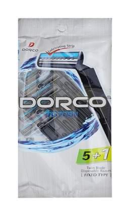 Станок для бритья Dorco TD708N Twin Blade 5 plus 1 Disposable Razors Черный