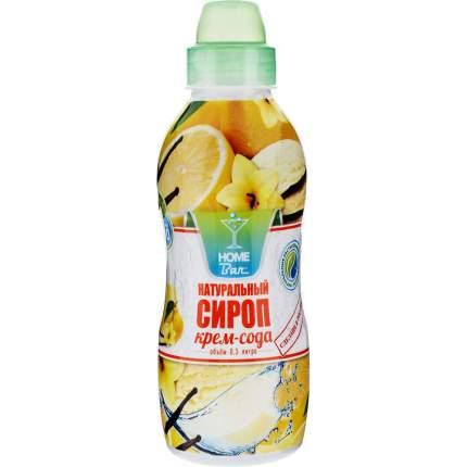 Сироп Home Bar крем-сода натуральный 0.5 л