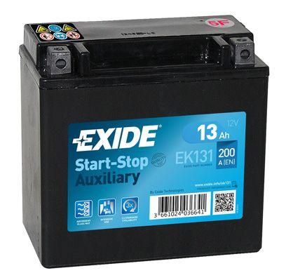 Аккумулятор автомобильный EXIDE EK131 13 Ач