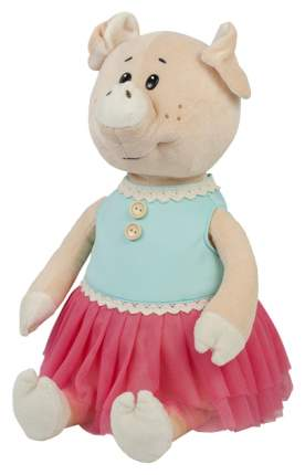 Мягкая игрушка Maxitoys Свинка Даша в Ярком Платье, 21 см