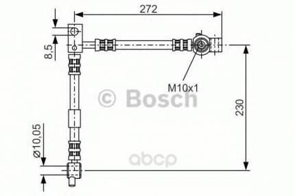 Шланг тормозной Bosch 1987476361