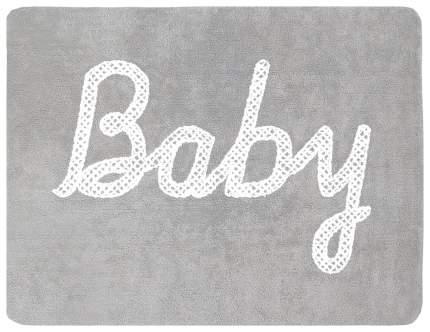 Ковер Lorena Canals с надписью Baby серый 120*160