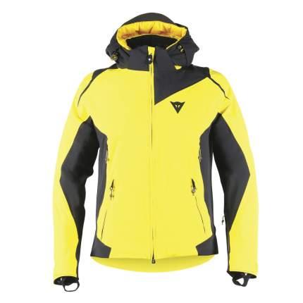Спортивная куртка мужская Dainese Skyward D-Dry, vibrant yellow/black/black, L