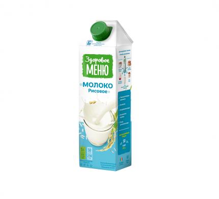 Молоко рисовое Здоровое Меню 1 л