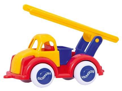 """Функциональная машинка Viking toys """"Пожарная машина с лестницей"""" 35 см"""