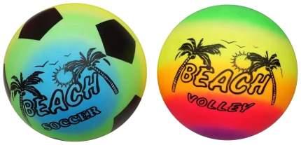 Мячик надувной Shantou Gepai пляжный 22 см