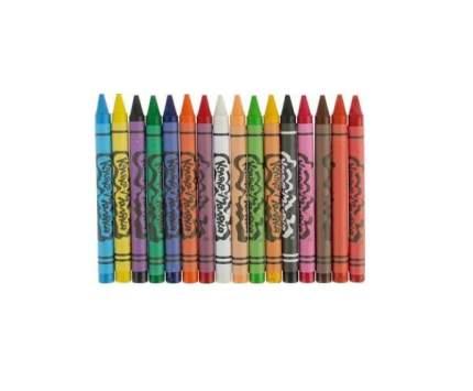 Набор восковых карандашей Каляка-Маляка KBKM16, 16 цветов