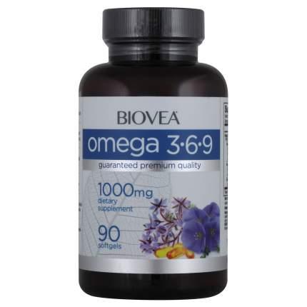Biovea Omega 3-6-9 1000 mg (90 капсул)