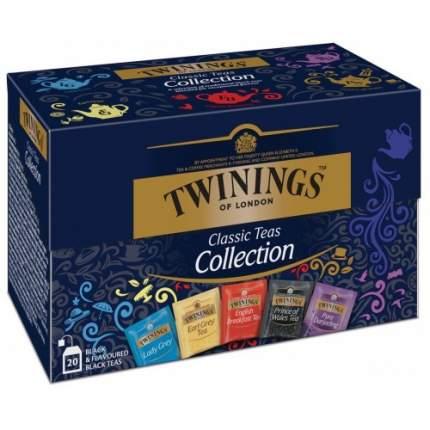 Чай черный Twinings классическая коллекция 20 пакетиков