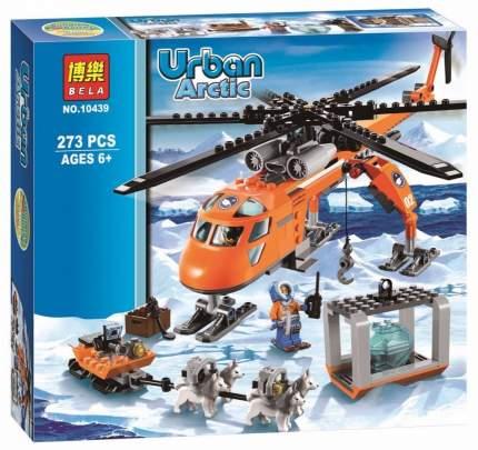 Конструктор пластиковый BELA 10439 Арктический вертолёт