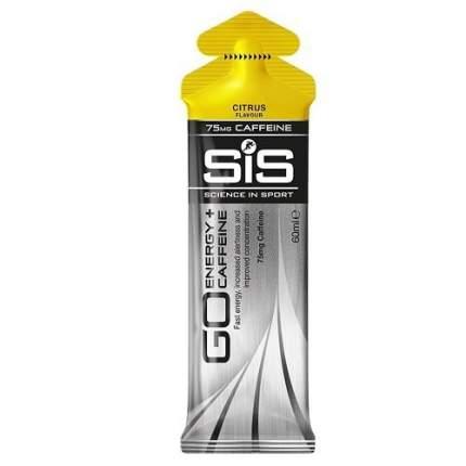 Изотонический гель SiS Go Caffeine Gel, 75 мл, citrus